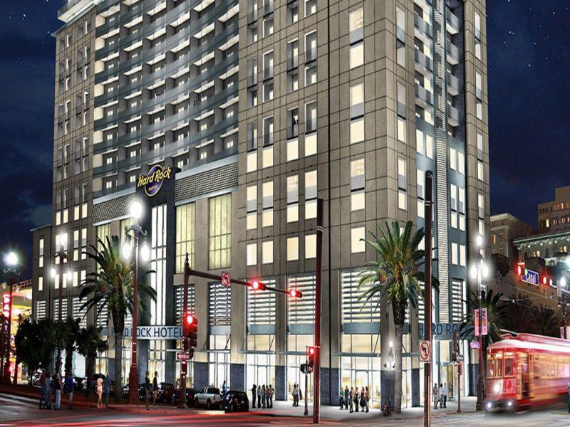 Hard Rock Café, Hotel Nueva Orleans