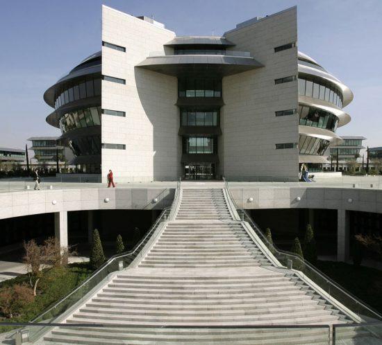 Ciudad Financiera Banco Santander, Madrid